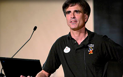 Randy Pausch at Podium by Sunset Bay Academy